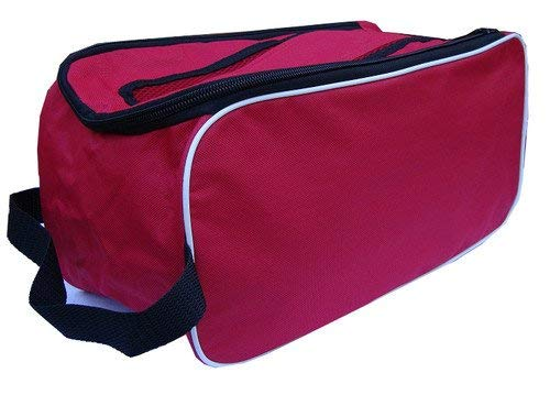 PROSTYLE SPORTS Football Boot Bag/Shoe Bag New Football/Rugby/Hockey/Gym - Red from PROSTYLE SPORTS