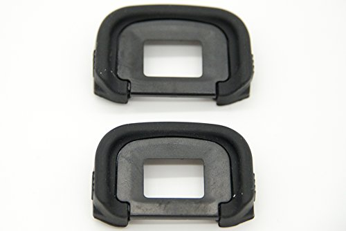 PROtastic Replacement EG Eyecup For Canon EOS-1D X / 1D Mark IV / 5DS / 5DS R / 5D Mark IV / 5D Mark III / 7D Mark II / 7D / 70D Cameras (2 Pack) from PROtastic