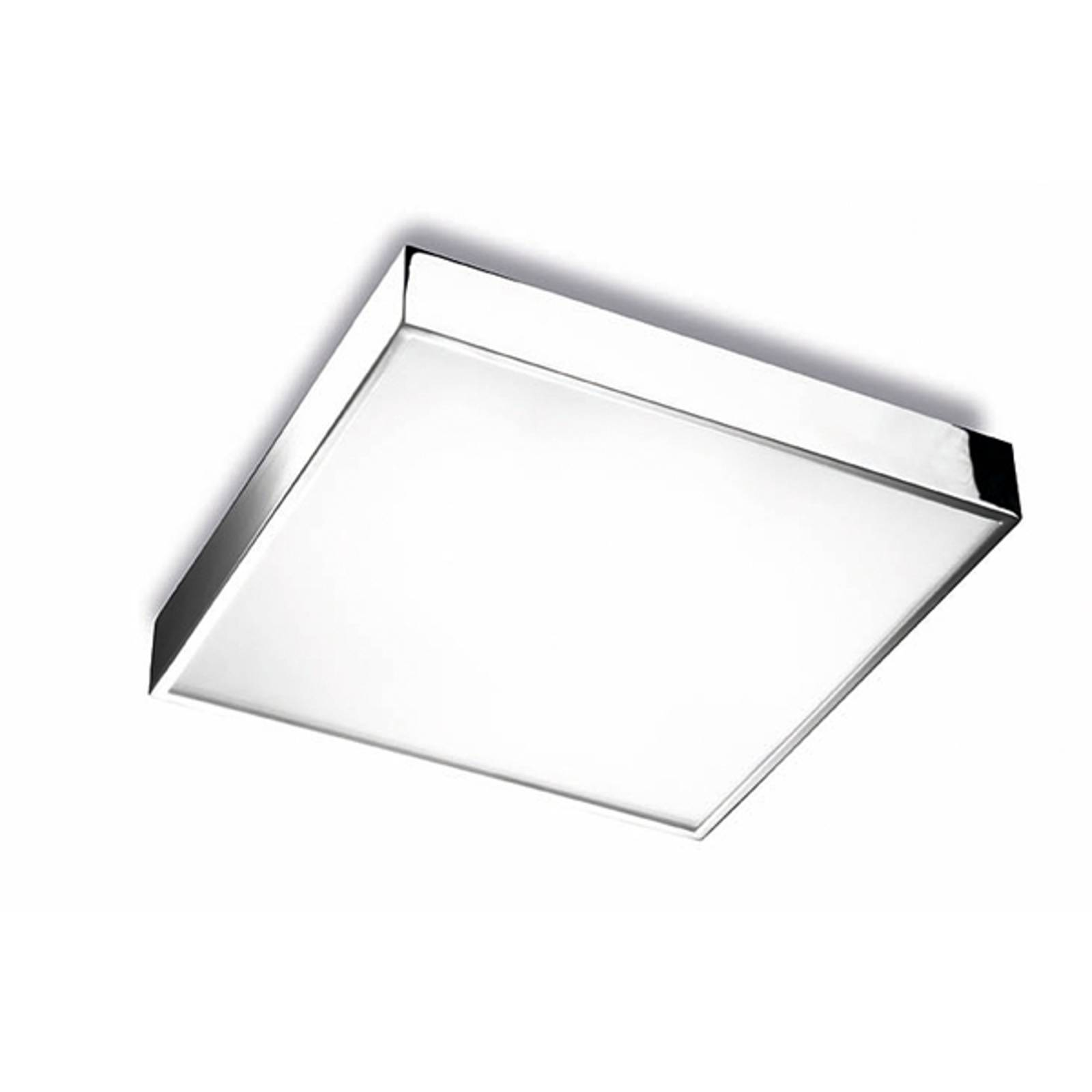 Apolo bathroom ceiling lamp IP44, 35 cm chrome from Pujol