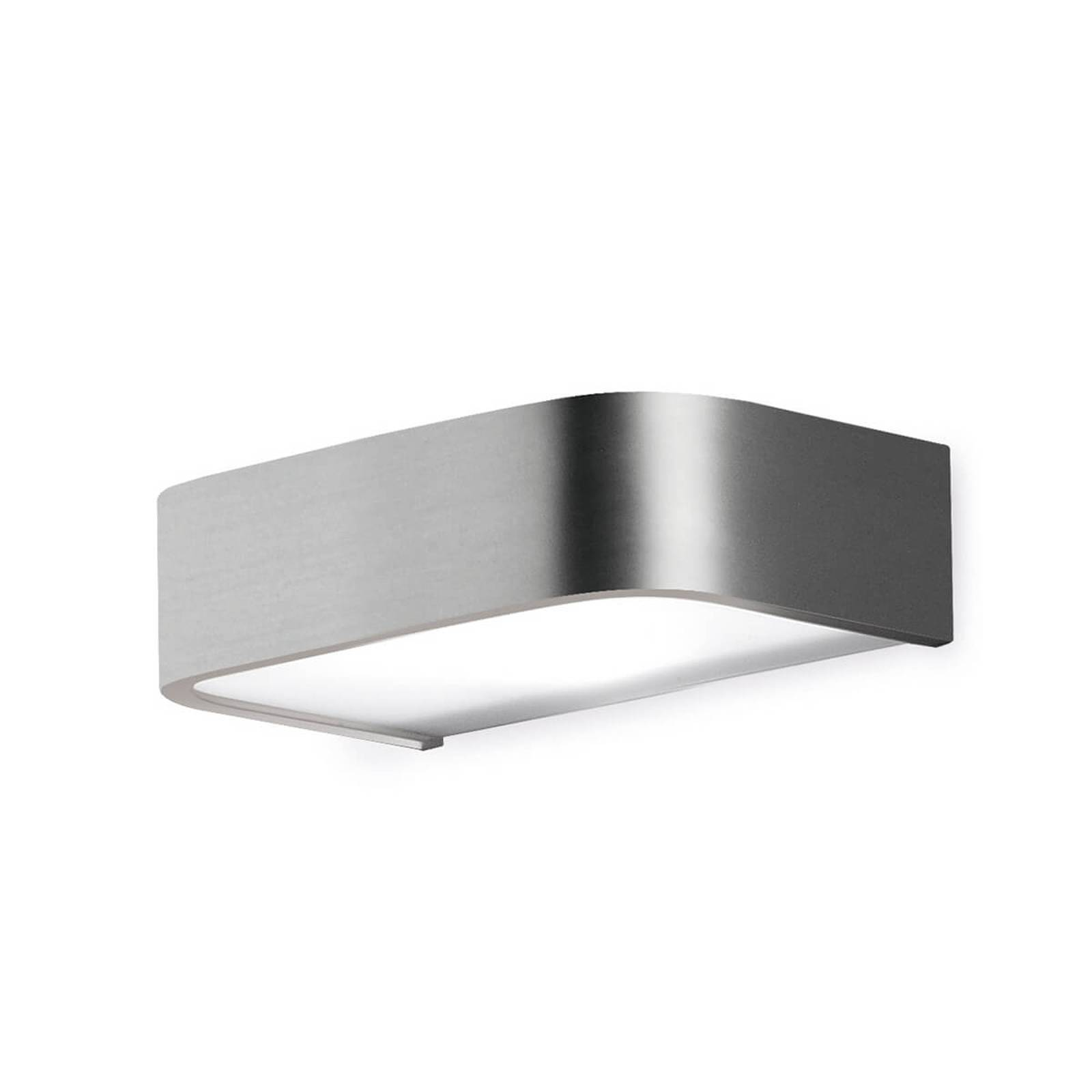 Bathroom wall light Arcos with LED, 15 cm nickel from Pujol