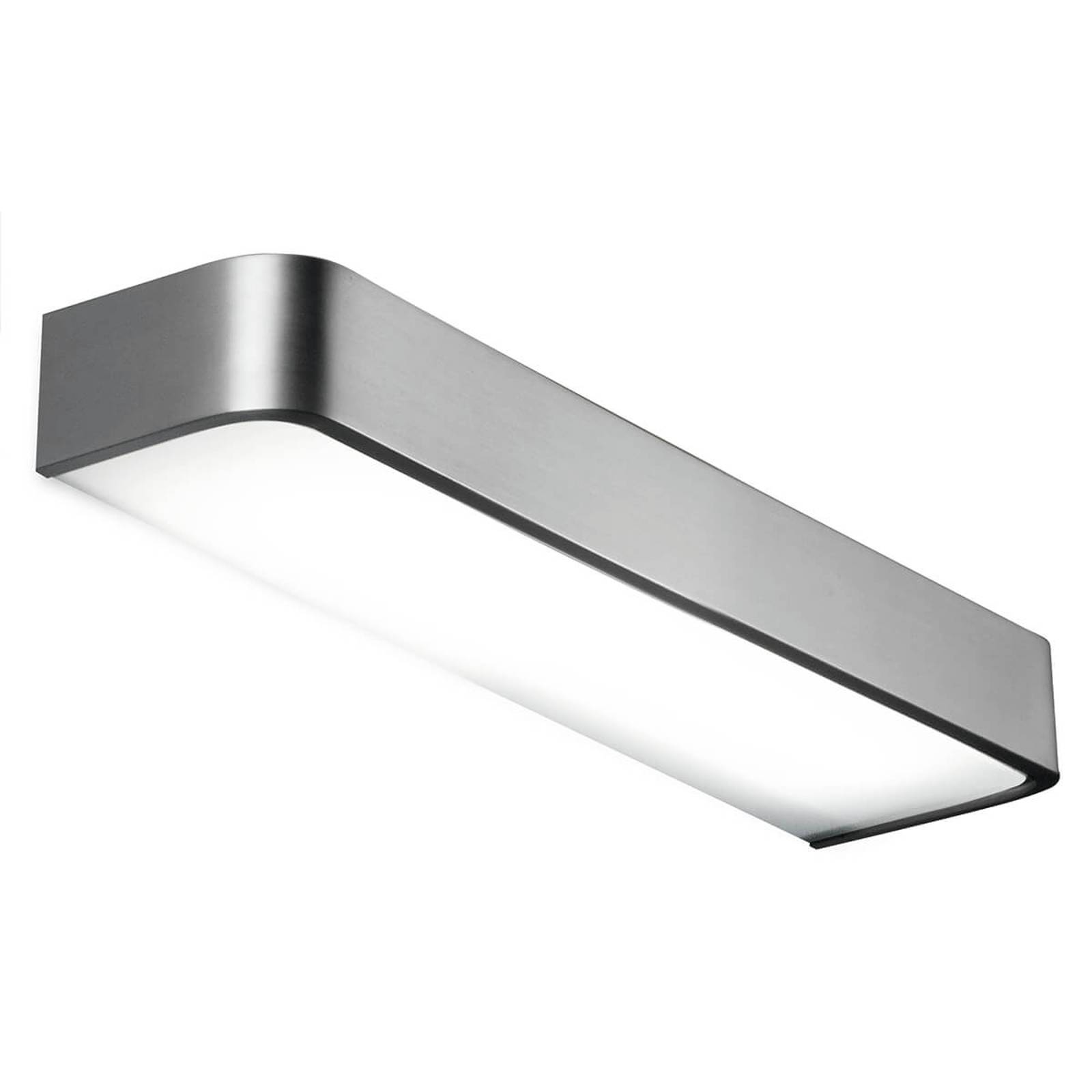 Bathroom wall light Arcos with LED, 60 cm nickel from Pujol