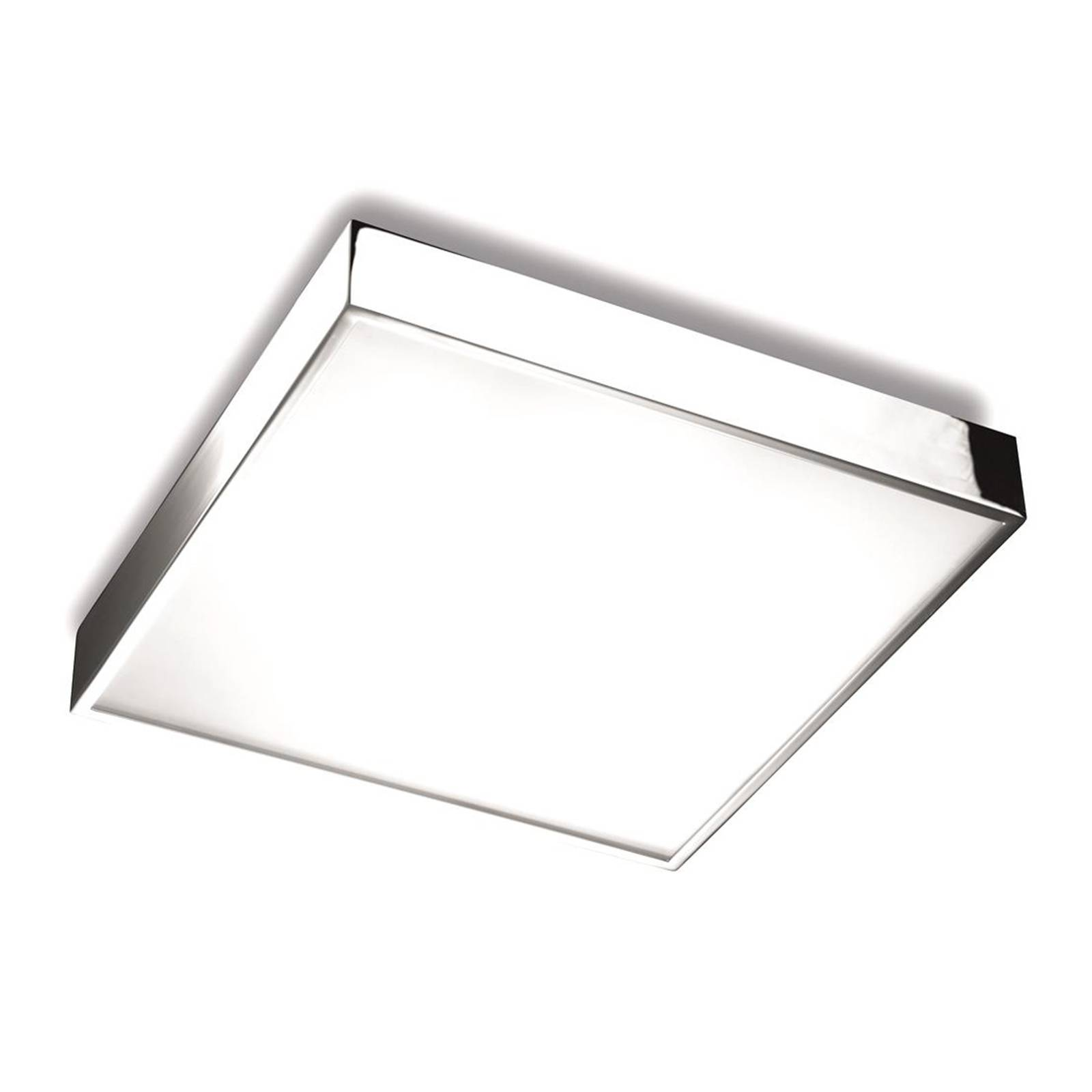 Square LED ceiling lamp Apolo, IP20 from PUJOL
