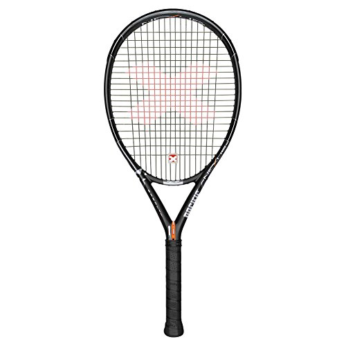 Pacific BX2 Nexus Cover ~ Unstrung Tennis Racket, Unisex, PC-0133-13.01.10, schwarz/chrome, 1: (4 1/8) from Pacific