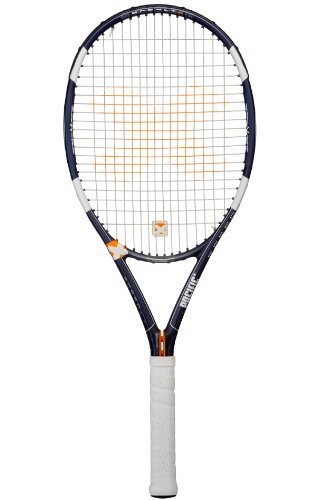 Pacific Speed Tennis Racquet Unstrung-Case, Unisex, PC-0123.03.10, dark blue/white, 3: (4 3/8) from Pacific