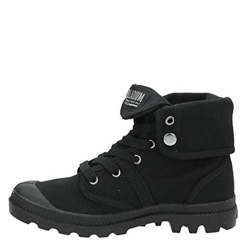 Palladium Women's Pallabrouse Baggy. Hi-Top Trainers, Black 466, 3.5 UK from Palladium