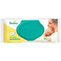 Pampers Baby Wipes Sensitive New Baby 50 from Pampers