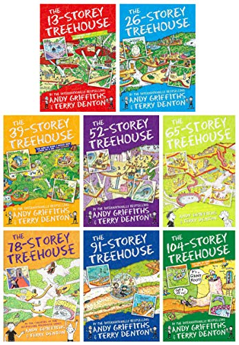 The Treehouse Series vol 1-8 from Pan Macmillan