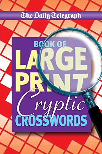 Daily Telegraph Book of Large Print Cryptic Crosswords from Pan