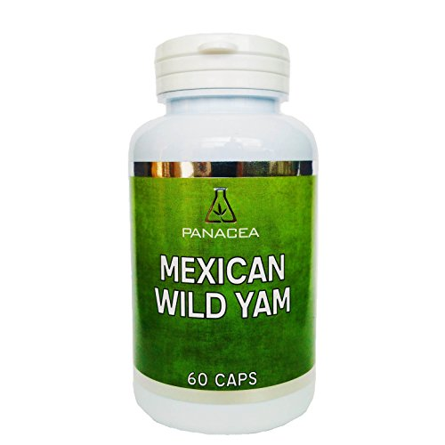 Mexican Wild Yam Extract 60 Capsules - PANACEA from Panacea Health UK