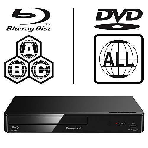 Panasonic DMP-BD83EB-K Smart Network Blu-ray Disc Player - MultiRegion For DVD Playback from Panasonic
