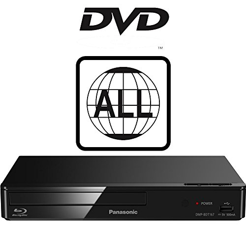 Panasonic DMP-BDT167EB-K Smart Blu-ray Player MULTIREGION for DVD from Panasonic