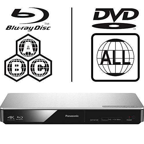 Panasonic DMP-BDT280EB Smart 3D 4K Upscaling ICOS Multi Region All Zone Code Free Blu-ray Player. Blu-ray zones A, B and C, DVD regions 1-8. YouTube, Netflix etc. HDMI output. HDD Playback from Panasonic