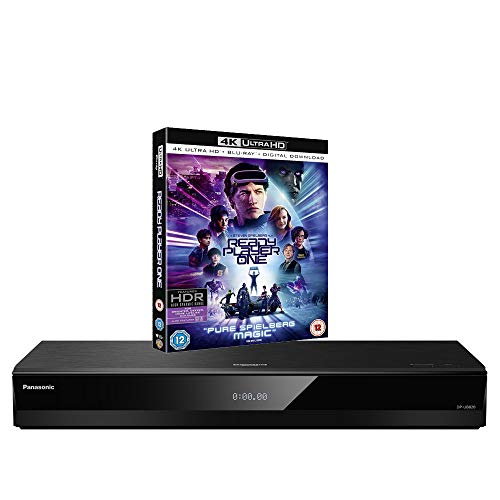 Panasonic DP-UB820 MULTIREGION for DVD Blu-ray Player Bundle with Ready Player One Ultra HD 4K Blu-ray Disc from Panasonic