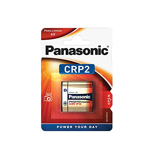 Panasonic CR-P2 6 V Lithium Battery - Silver from Panasonic