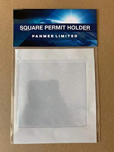 Square Permit Holders Pack of 4 from PANMER
