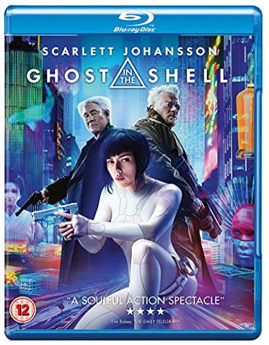 GHOST IN THE SHELL Blu-RayTM + digital download [2017] from Paramount Home Entertainment