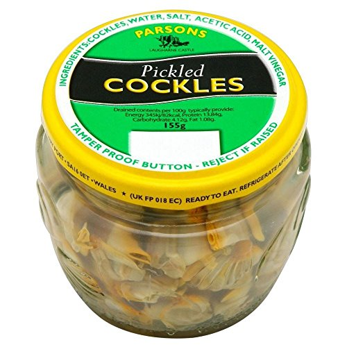 Parsons Welsh Pickled Cockles (155g) - Pack of 2 from Parsons
