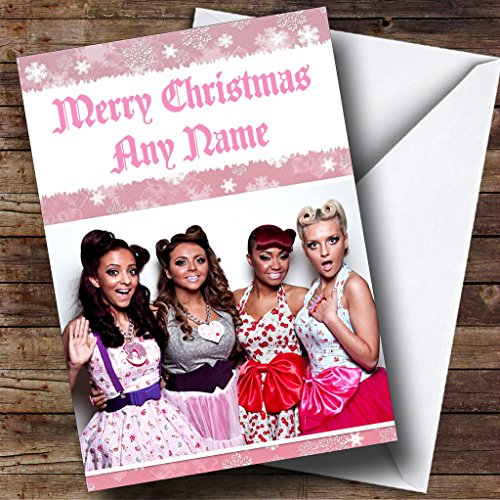 Little Mix Personalised Christmas Card from Party Animal Print