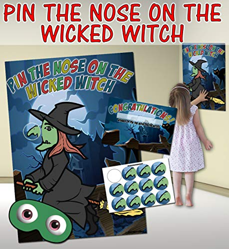 Pin the Nose on the Witch (Pin the tail on the donkey style game) from Party People