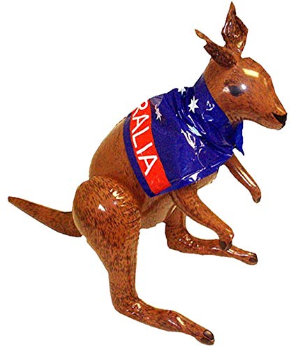 Inflatable Kangaroo 70cm from Henbrandt