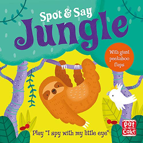 Jungle: Play I Spy with My Little Eye (Spot and Say) from Pat-a-Cake