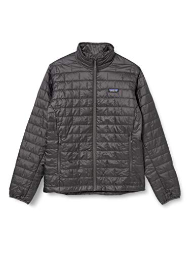 Patagonia Men's Nano Puff Jacket - Forge Grey, Small from Patagonia