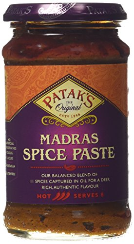 Patak's Madras Paste 283 g (Pack of 6) from Patak's
