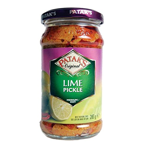 Pataks | Lime Pickle - Medium/Hot | 5 x 283g from Patak's