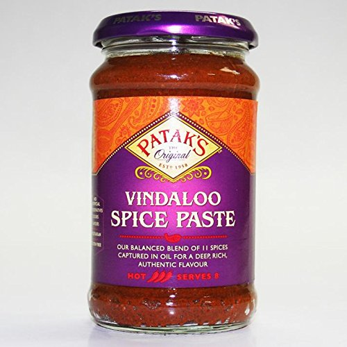 Pataks | Vindaloo Curry Paste | 3 x 283g from Patak's