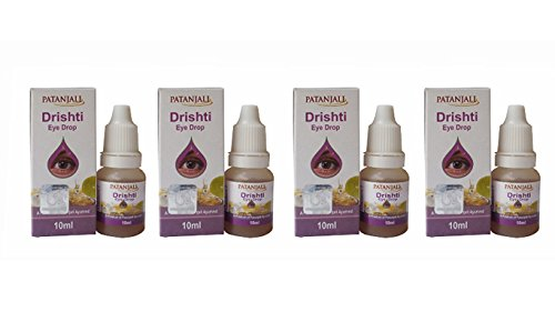 4 X Divya Drishti Eye Drops 10ml from Patanjali Ramdev