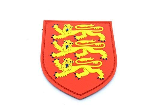 England Three Lions Royal Coat Of Arms Crest Airsoft PVC Patch from Patch Nation
