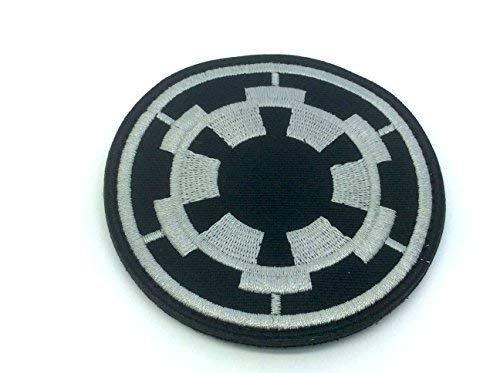 Imperial Forces Cog Emblem Cosplay Embroidered Airsoft Paintball Fan Patch from Patch Nation