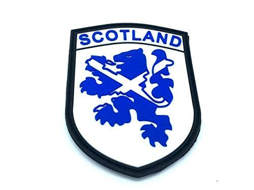Scotland Blue Rampant Lion Airsoft PVC Patch from Patch Nation