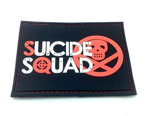 Suicide Squad PVC Airsoft Patch from Patch Nation