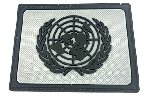 UN United Nations U.N Grey PVC Airsoft Patch from Patch Nation