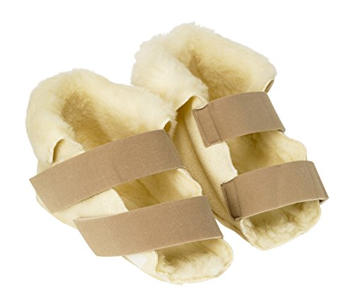 Patterson Medical Large Pair Fleece Open Slippers - Size 1 from Patterson Medical