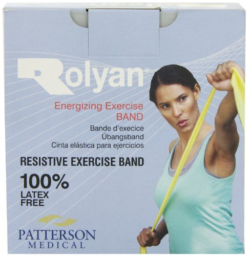 Patterson Medical Simply Band/Rolyan Band 25 m (L/F) - Yellow from Patterson Medical