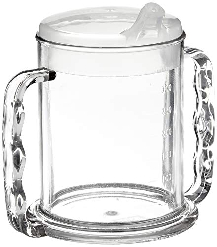 Patterson Medical Two Handled Clear Mug - 285 ml from Patterson Medical