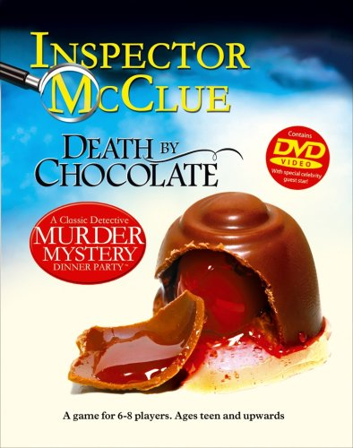 A Classic Detective Murder Mystery Dinner Party with DVD Death By Chocolate from Paul Lamond Games