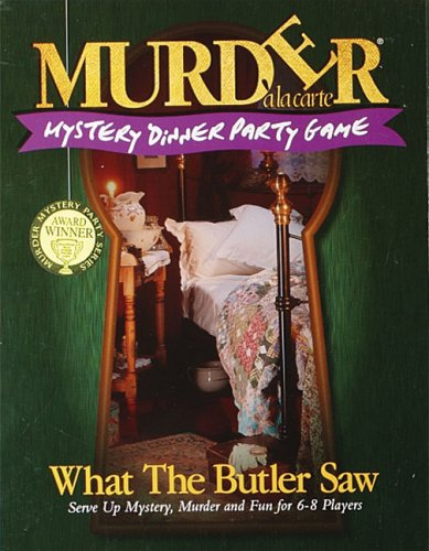Murder a la Carte, What The Butler Saw from Paul Lamond Games