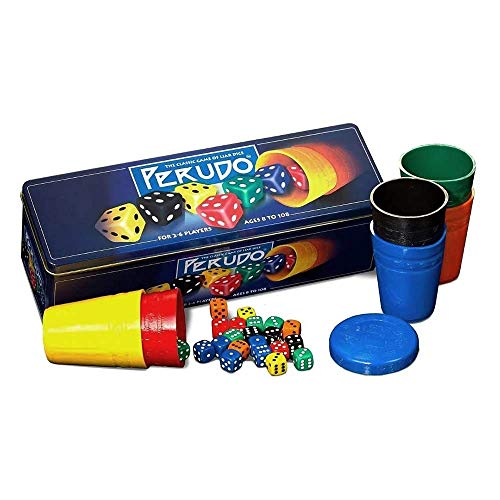 Perudo in a Tin Game from Paul Lamond Games