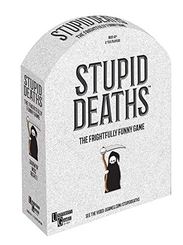 Stupid Deaths Board Game from Paul Lamond Games