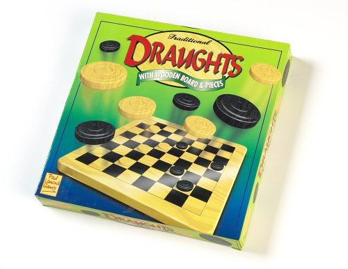 Paul Lamond Games Traditional Draughts with Wooden Board & Pieces from Paul Lamond Games