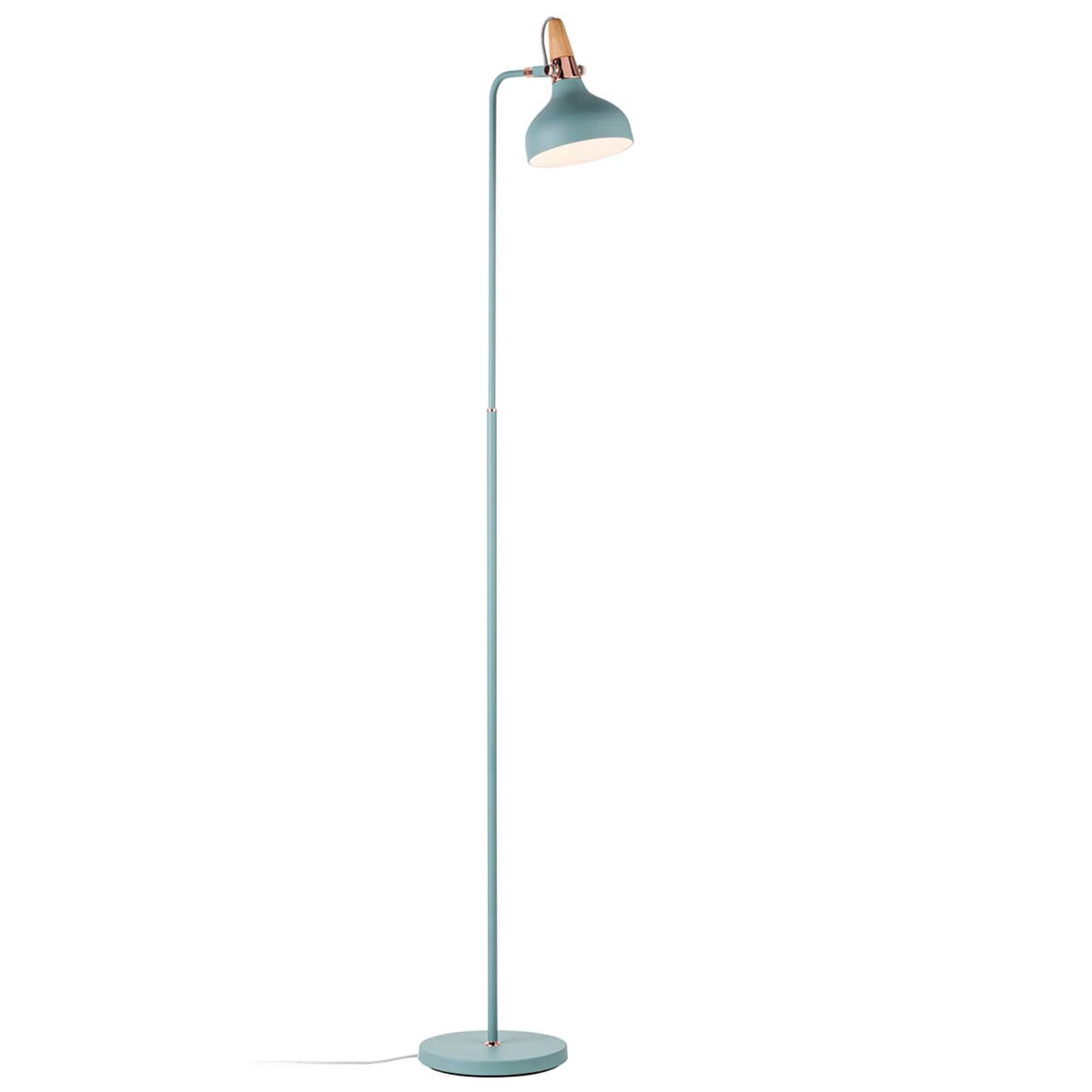 Pastel-coloured floor lamp Juna with chic details from Paulmann