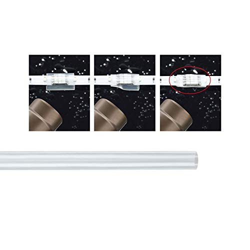 Paulmann 70247 YourLED Water Shrink Tube for LED Strip 15 cm Transparent Moisture Protection for Approx. 5-6 Connections from Paulmann