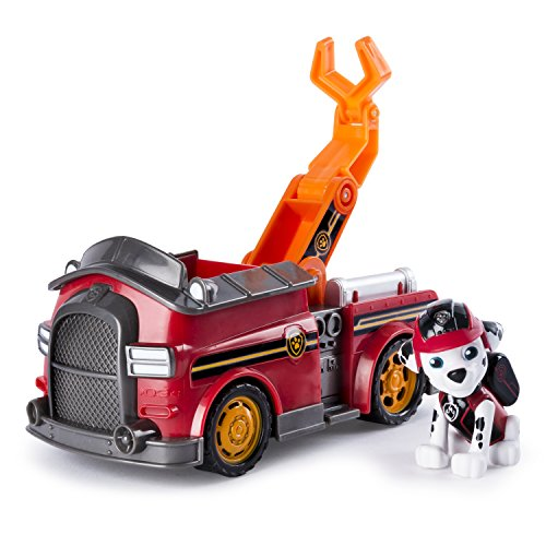 PAW PATROL 6037967 PAW Vehicle-Marshall's Mission Fire Truck from PAW PATROL