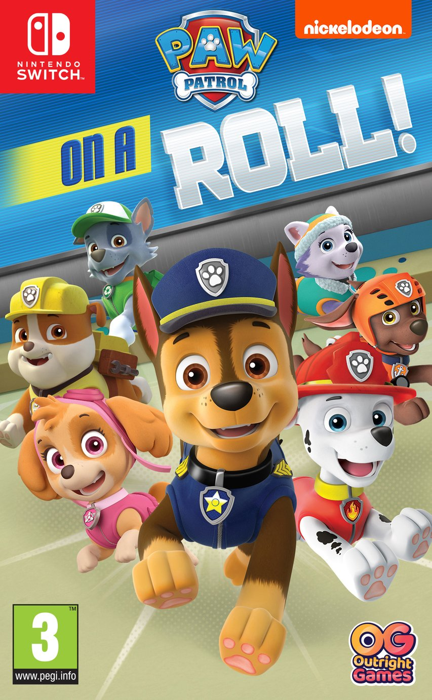 Paw Patrol: On A Roll Nintendo Switch Game from Paw Patrol
