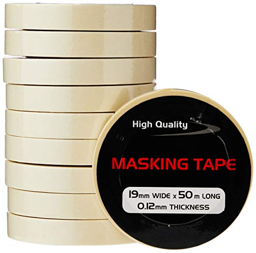 Pearl PMT01 19mm x 50m Masking Tape (Pack of 10) from Pearl Automotive