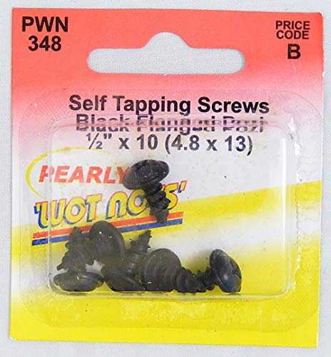 Pearl PWN348 Flanged Self Tapper - Black from Pearl