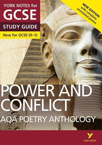 AQA Poetry Anthology - Power and Conflict: York Notes for GCSE (9-1): Second edition from Pearson Education